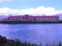 The Grand Aleutian Hotel.  [Russ Marvin]